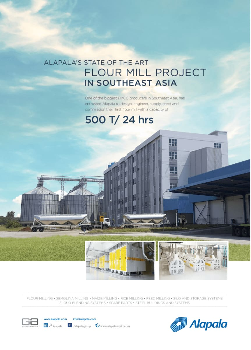 ALAPALA'S NEW TURN KEY PROJECT IN SOUTHEAST ASIA