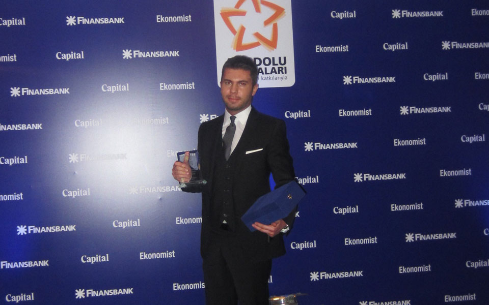 Award for Alapala in Large Companies Category of ''Anatolian Brands Contest''