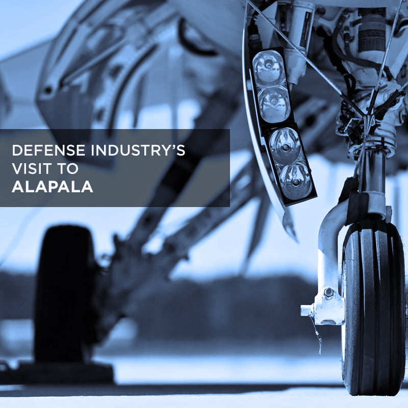 DEFENSE INDUSTRY'S VISIT TO ALAPALA